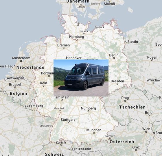 Bazi Camping in Deutschland