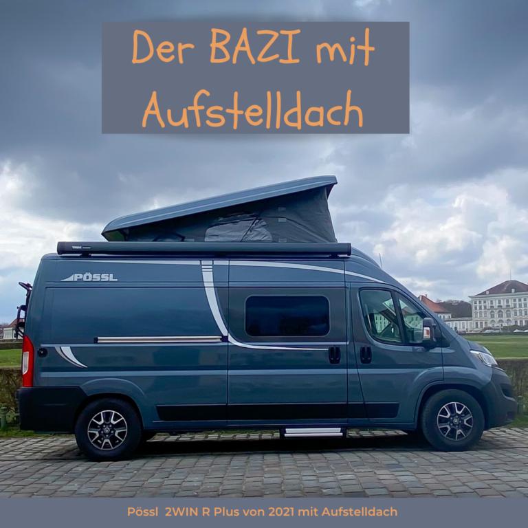 Bazi - Wohnmobil aus München mit Aufstelldach