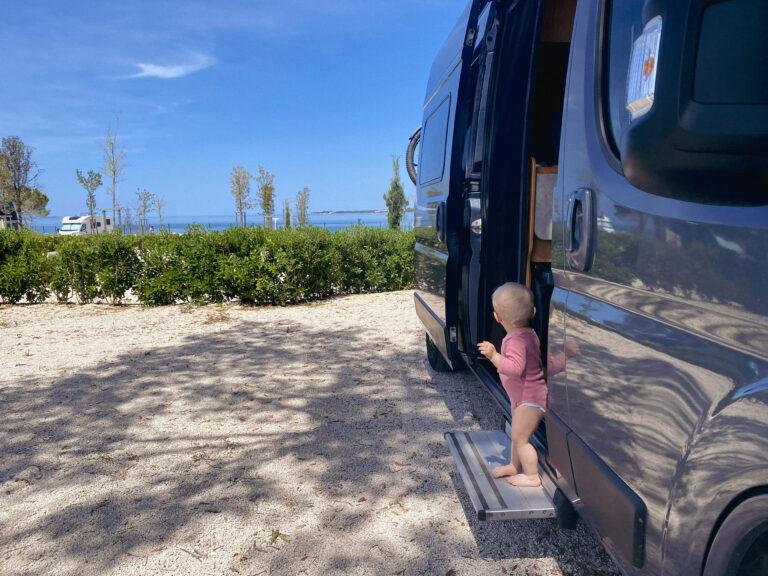 Wohnmobil Reise mit Baby